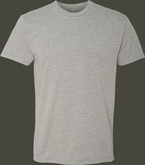 Next Level 6210 T-shirt, Combed Ringspun Cotton/Polyester